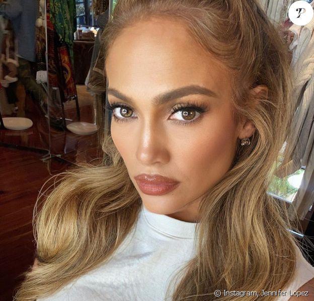 Jennifer Lopez il y a trois mois.