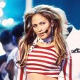 Jennifer Lopez aux American Music Awards 2001.