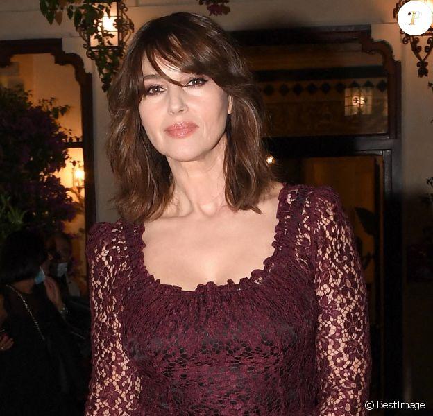 Monica Bellucci - Les célébrités au Film Festival de 66 Taormina en l'honneur de Dolce Gabbana à Taormina