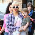 Christina Aguilera et son petit Max Liron