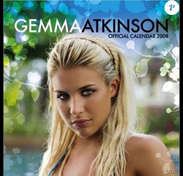 Gemma Atkinson sur la couverture de son calendrier 2008 !
