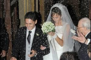 Giancarlo Fisichella et sa belle Luna ont fini par... se marier ! La preuve en images !