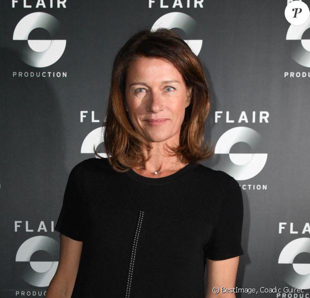 """Carole Gaessler - Soirée du 10ème anniversaire de l'agence audiovisiuelle """"Flair production"""" à l'hôtel """"Le Marois"""" à Paris © Coadic Guirec/Bestimage"""