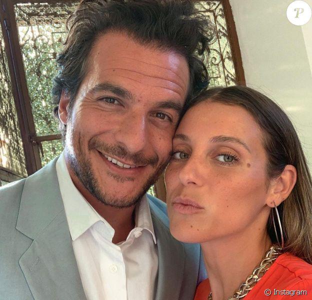 Amir et sa femme Lital sur Instagram.