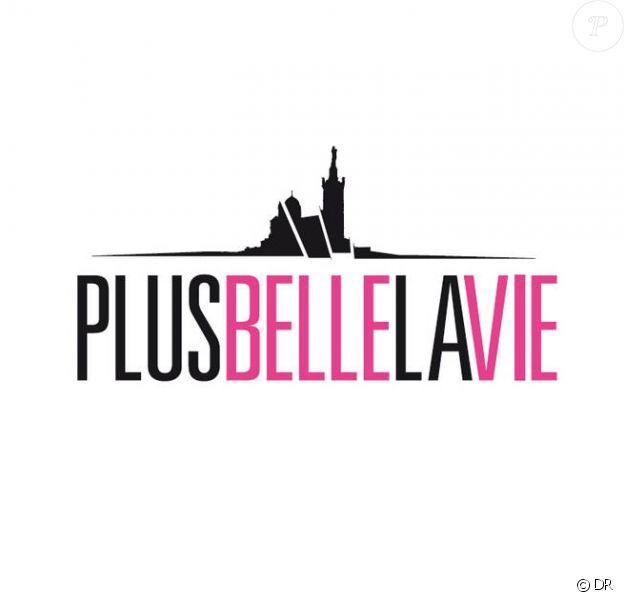 """Logo de la série """"Plus belle la vie""""."""