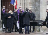 Obsèques de Robert Hossein : sa veuve Candice Patou digne et soutenue par son fils Julien