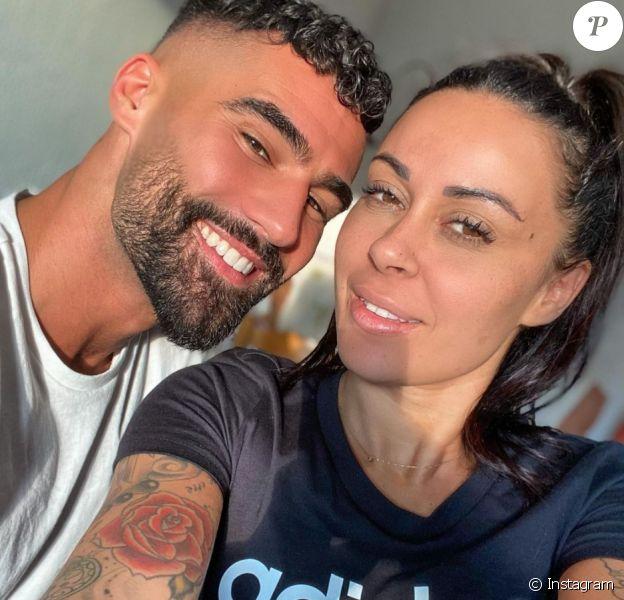 Shanna Kress et Jonathan Matijas en couple sur Instagram.