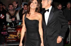 George Clooney entre sa sublime chérie Elisabetta et Cindy Crawford... ont irradié la capitale anglaise !