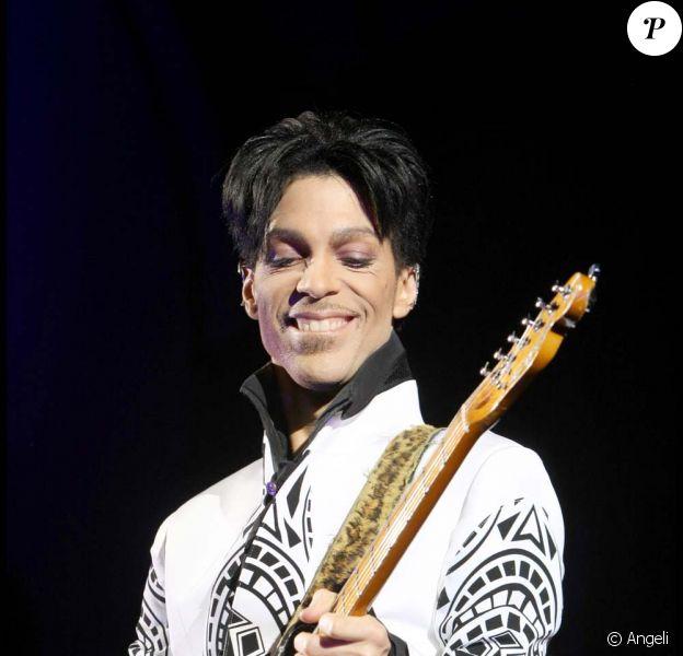 Prince était sur le plateau du Grand Journal le 14 octobre 2009