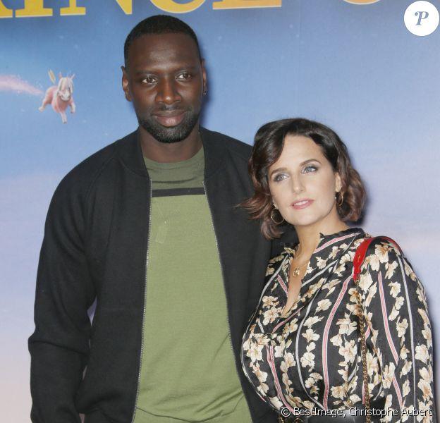 """Omar Sy avec sa femme Hélène Sy -  """"Le Prince Oublié"""" au cinéma le Grand Rex à Paris. © Christophe Aubert/Bestimage"""