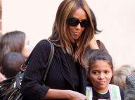 Iman Bowie : Une maman magnifique pour aller chercher... sa ravissante fille à l'école !
