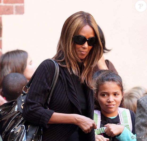 Iman Bowie et sa fille Lexi Jones