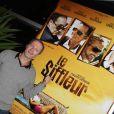 Philippe Lefebvre, lors de la présentation du  Siffleur , à l'occasion du 3e DirActor's Cut International Film Festival, à Luxembourg, le 15 octobre 2009 !