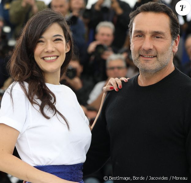 """Mélanie Doutey et Gilles Lellouche - Photocall du film """"Le grand bain"""" au 71ème Festival International du Film de Cannes. © Borde / Jacovides / Moreau / Bestimage"""