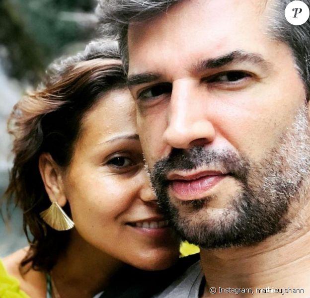 Mathieu Johann sur Instagram avec sa nouvelle chérie Badia