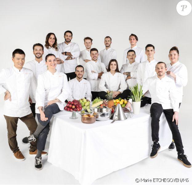 """Les candidats au casting de la douzième saison de """"Top Chef""""."""