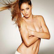 Doutzen Kroes se dévoile topless... Entrez au paradis !