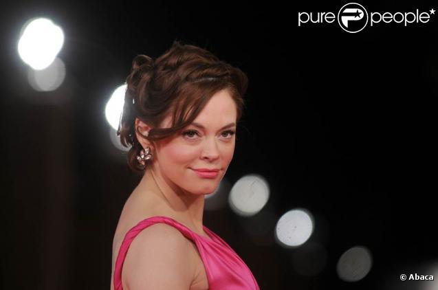 La ravissante Rose McGowan, à l'occasion de l'avant-première de  L'imaginarium du Docteur Parnassus , dans le cadre du 4e Festival international du Film de Rome, le 18 octobre 2009 !