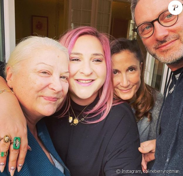 Josiane Balasko, sa fille Marilou Berry et Coline Berry (la fille de Richard Berry) sur Instagram, 2021.