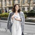 Exclusif - Camille Rutherford arrive pour la journée des Révélations César 2021 au théâtre Trianon à Paris, France, le 1er février 2021.