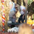 Busy Philipps et sa fille Birdie à Hollywood, le 17 octobre 2009