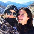 Alizée et sa fille Annily le 26 janvier 2019 en Corse.