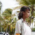 """Exclusif - Sonia Rolland - Tournage de la série """"Tropiques criminels"""" en Martinique. Le 8 mai 2019. © Sylvie Castioni / Bestimage"""