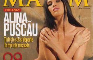 Alina Puscau : Au cinéma de plus en plus, mais ce soir elle se déshabille rien que pour vous...