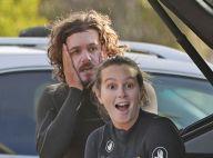 Leighton Meester et Adam Brody : Virée en eaux froides pour leur anniversaire