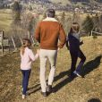Olivier Véran et ses enfants sur Instagram. Le 28 février 2021.
