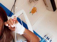 Wejdene hospitalisée : Bandage et perfusion, ses fans sont inquiets