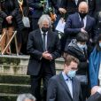 Marie-Claude Pietragalla lors des obsèques du danseur étoile Patrick Dupond en l'église Saint-Roch à Paris, France, le 11 mars 2021.