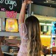 Rebecca Hampton, sa fille Éléa lui fait apprendre ses textes de comédienne - Instagram
