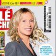 """Rebecca Hampton fait la couverture du dernier numéro de """"Télé Poche"""""""