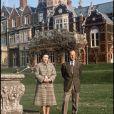 La reine Elizabeth et le prince Philip à Sandringham, en 1982.