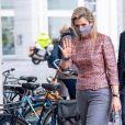 """La reine Maxima des Pays-Bas lors de l'ouverture du """"National Year of Voluntary Deployment 2021"""" à La Haye. Le 2 décembre 2020"""