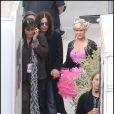 Kelly Osbourne sur le plateau de l'émission Dancing With The Stars le 27/10/09 à Los Angeles
