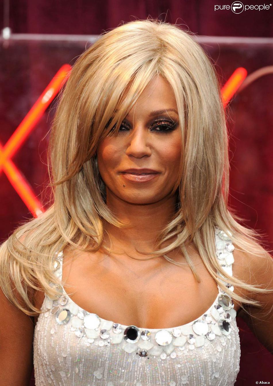 Gwyneth Paltrow Xxx intended for mel b en blonde lors de la soirée de lancement de la nouvelle
