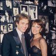 Nicole Calfan et François Valery en 1985.