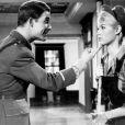 """Brigitte Bardot et Jacques Charrier dans """"Babette s'en va-t-en guerre"""" en 1959."""