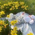 Eugénie d'York célèbre sa première Fête des mères avec son fils August, le 14 mars 2021.