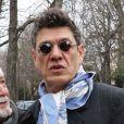 """Marc Lavoine - Arrivées des people sur l'enregistrement de l'émission """"Vivement dimanche"""" au Pavillon Gabriel à Paris le 26 février 2020."""