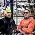 Aziz Essayed (Loft Story 2001) avec Frank Delay pour des entraînements sportifs intensifs - Instagram