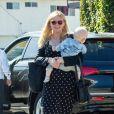 Exclusif - Kirsten Dunst et son fils Ennis à Studio City le 30 mai 2019.