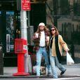 Décembre 94, Agassi porte toujours sa perruque fétiche... Ici avec sa première femme, Brooke Shields !