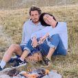 Alessandra Sublet et son amoureux Jordan Deguen lors d'une escapade romantique, sportive et studieuse.