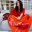 Shanna Kress et Jonathan Matijas le jour de la Saint-Valentin, 14 février 2021
