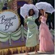 Christina Milian à Los Angeles fête l'ouverture du nouveau shop Beignet Box cafe.