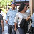 Jesse Williams et son ex-femme Aryn Drake-Lee à Los Angeles. Septembre 2011.