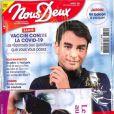 """Couverture du magazine """"Nous Deux"""" du 13 avril 2021"""